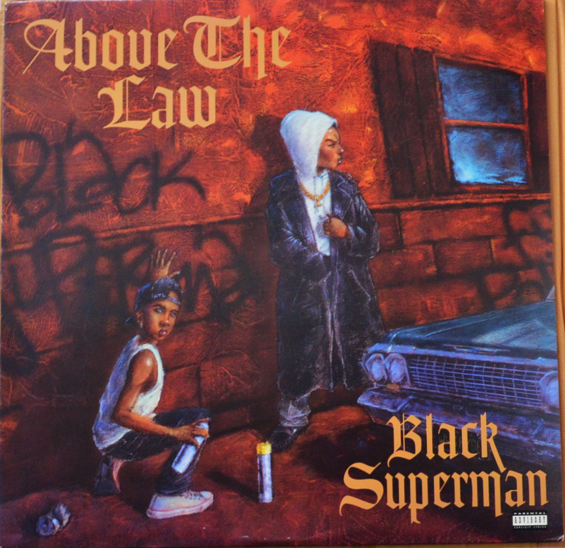 ABOVE THE LAW ‎/ BLACK SUPERMAN / EVERYTHING WILL BE ALRIGHT (12