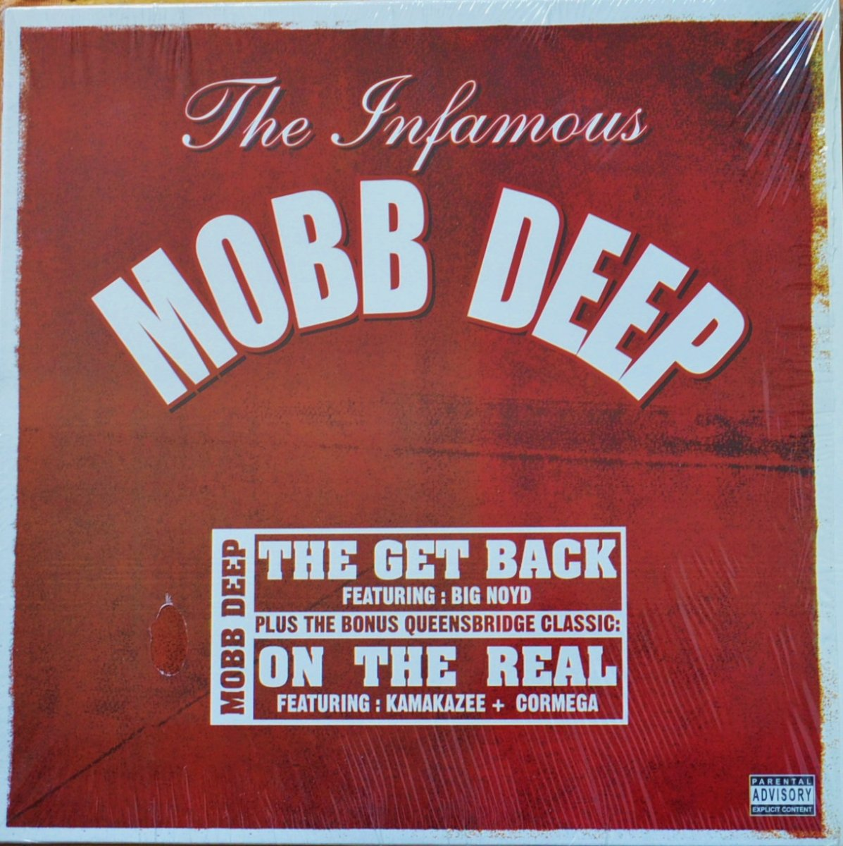 MOBB DEEP / THE GET BACK (FT.BIG NOYD,PROD.GODFATHER DON) / ON THE REAL (FT.CORMEGA, KAMAKAZEE)(12