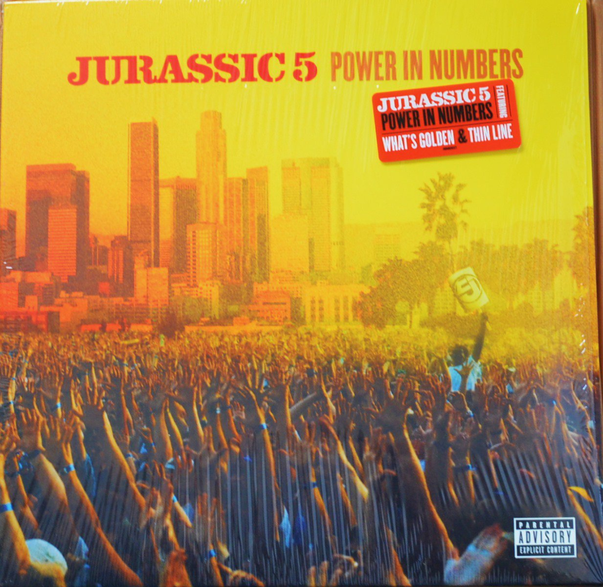 JURASSIC 5 / POWER IN NUMBERS (2LP)