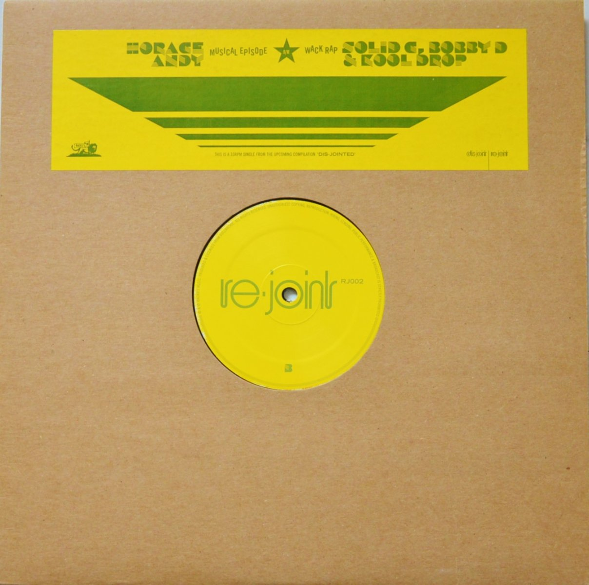 HORACE ANDY ... ‎/ MUSICAL EPISODE / WACK RAP (12