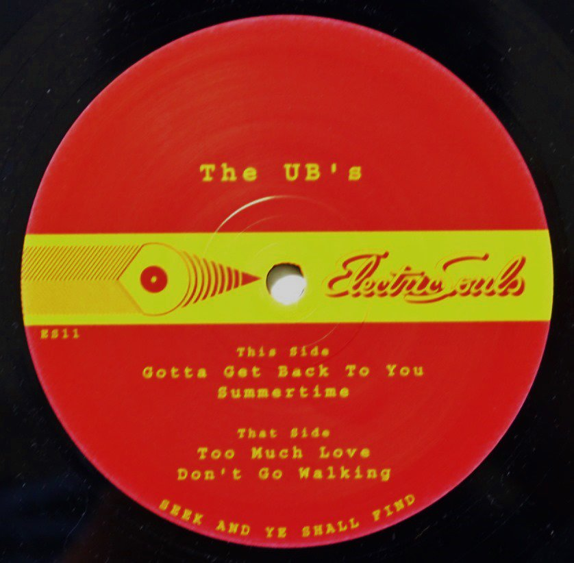 U.B.'S / GOTTA GET BACK TO YOU / SUMMERTIME / TOO MUCH LOVE / DON'T GO WALKING (12