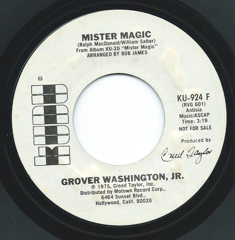 GROVER WASHINGTON, JR. ‎/ MISTER MAGIC (7