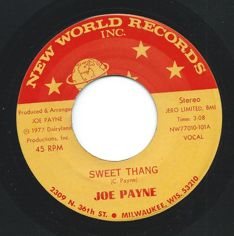 JOE PAYNE / SWEET THANG (7