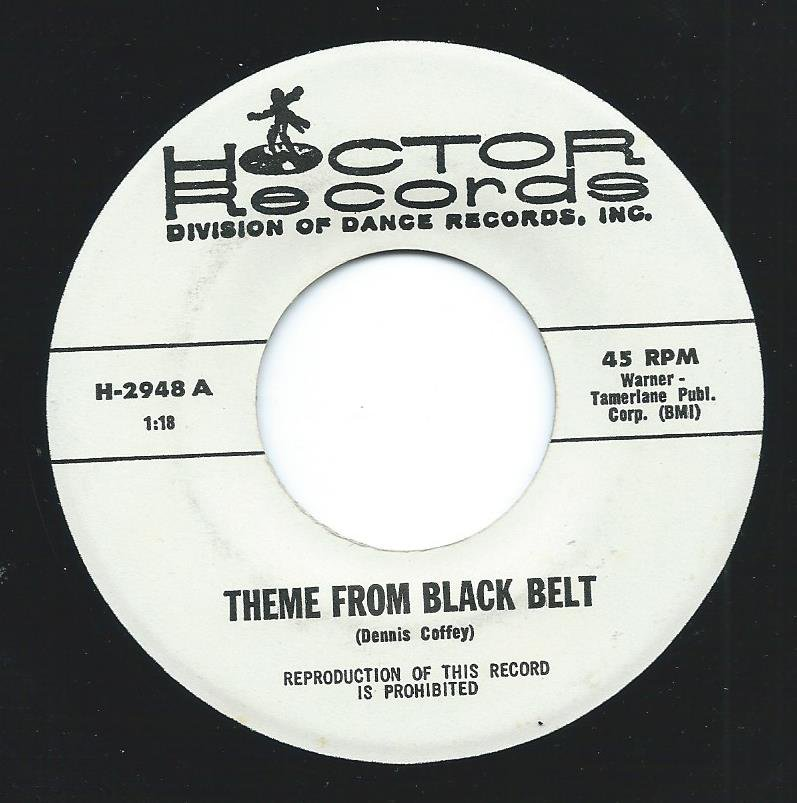 THE HOCTOR BAND / THEME FROM BLACK BELT / LADY, LADY, LADY (7