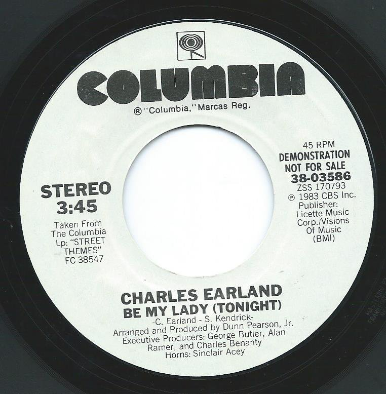 CHARLES EARLAND ‎/ BE MY LADY (TONIGHT) (7