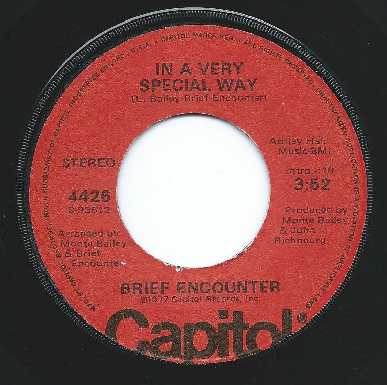 BRIEF ENCOUNTER / IN A VERY SPECIAL WAY / GET A GOOD FEELING (7