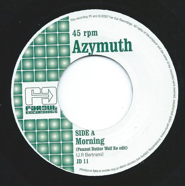 AZYMUTH / MORNING-PEANUT BUTTER WOLF RE-EDIT (7