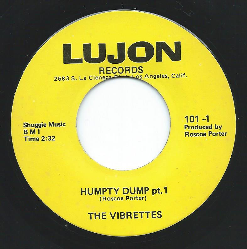 THE VIBRETTES / HUMPTY DUMP (7