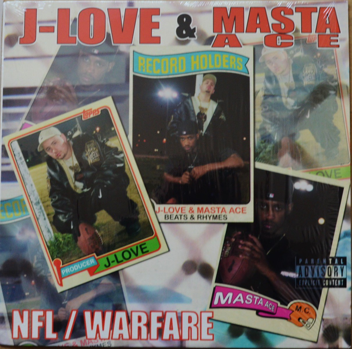 J-LOVE & MASTA ACE / NFL / WARFARE (12