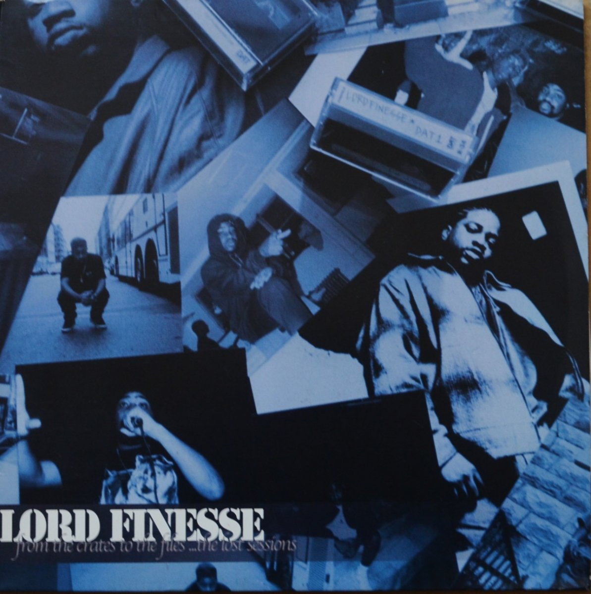 LORD FINESSE / FROM THE CRATES TO THE FILES ...THE LOST SESSIONS (3LP)