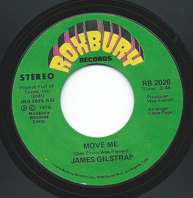 JAMES GILSTRAP / MOVE ME (7