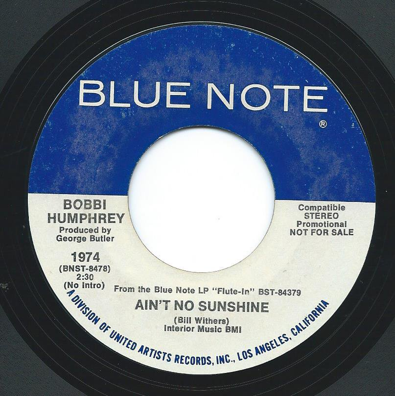 BOBBI HUMPHREY / AIN'T NO SUNSHINE (7