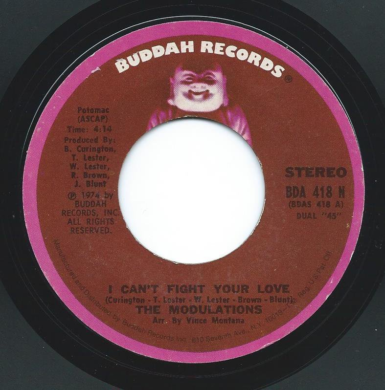 THE MODULATIONS / I CAN'T FIGHT YOUR LOVE / YOUR LOVE HAS ME LOCKED UP (7