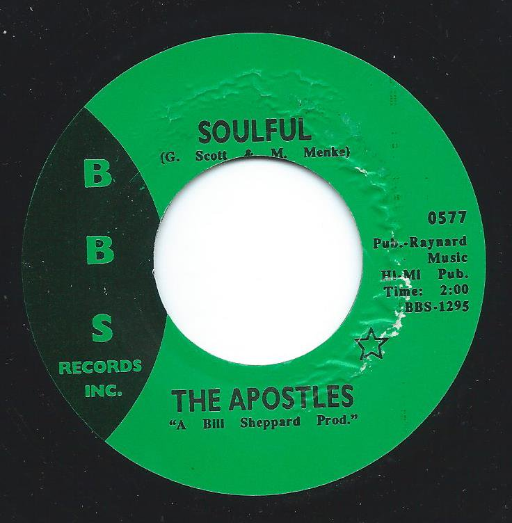 THE APOSTLES / SOULFUL / PICK IT UP (7
