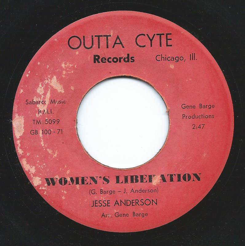 JESSE ANDERSON / WOMEN'S LIBERATION / OW, WOW MAN (7