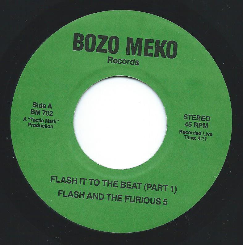FLASH AND THE FURIOUS 5 / FLASH IT TO THE BEAT (7