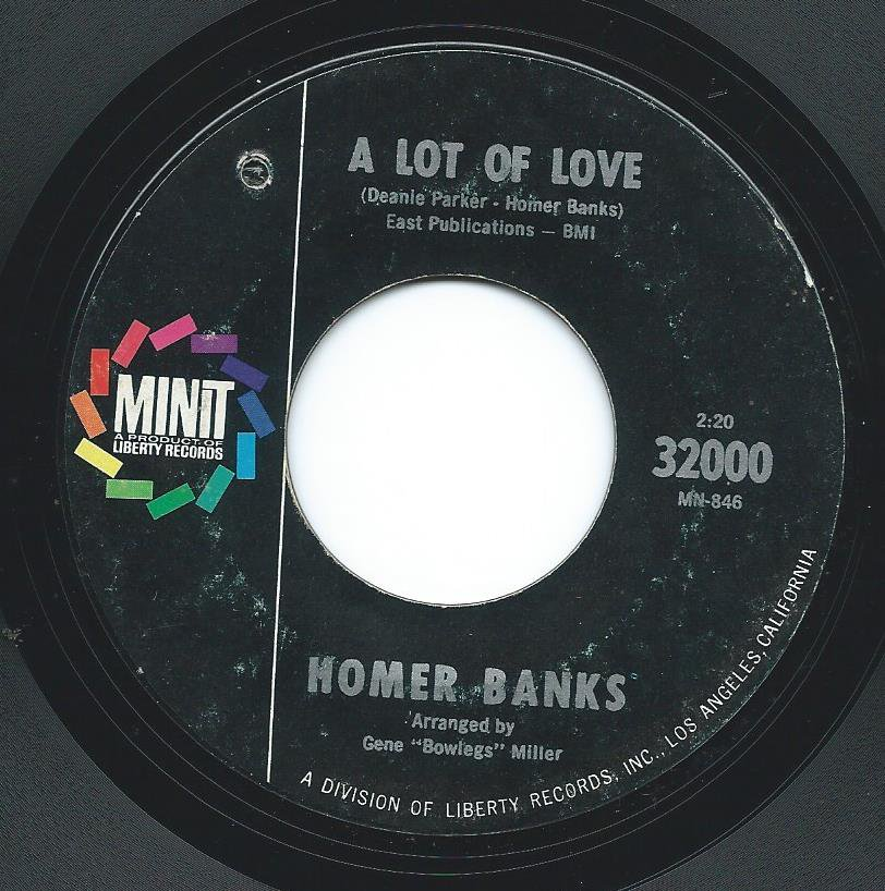 HOMER BANKS / A LOT OF LOVE / FIGHTING TO WIN (7