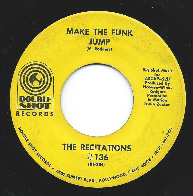 THE RECITATIONS / MAKE THE FUNK JUMP / THE GREAT NIGHT HUNTER (7