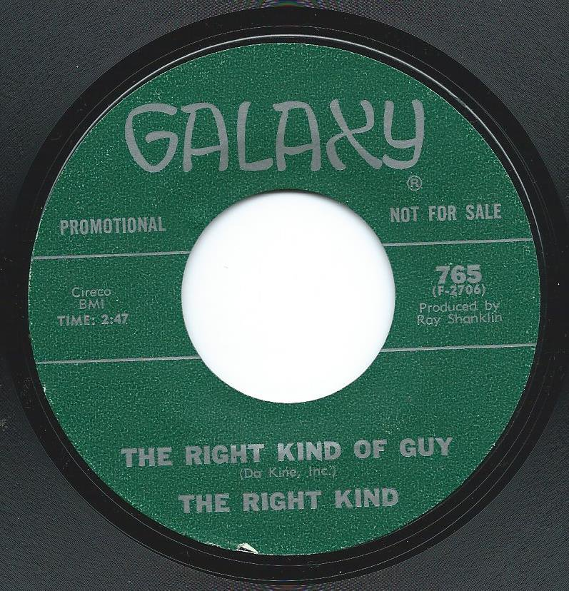 THE RIGHT KIND / GOING BACK / THE RIGHT KIND OF GUY (7