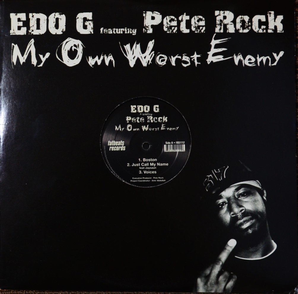 ED O.G.FEATURING PETE ROCK / MY OWN WORST ENEMY (2LP)