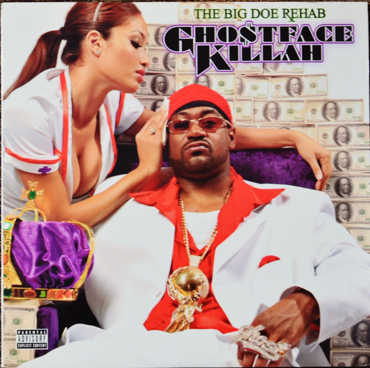 GHOSTFACE KILLAH ‎/ THE BIG DOE REHAB (2LP)