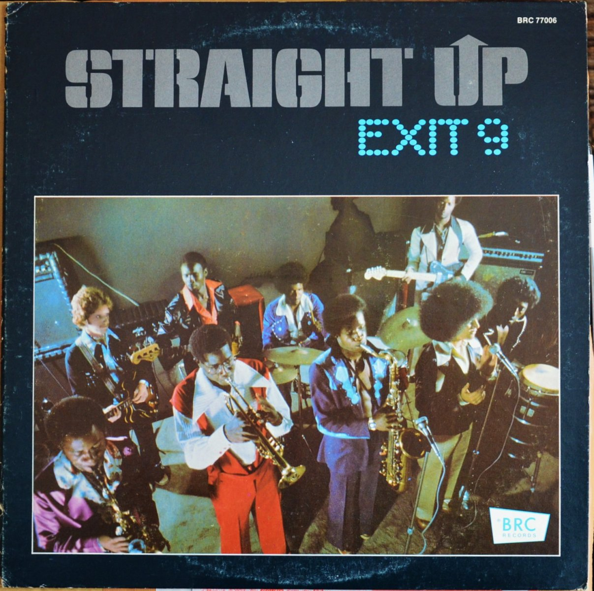 EXIT 9 / STRAIGHT UP (LP)