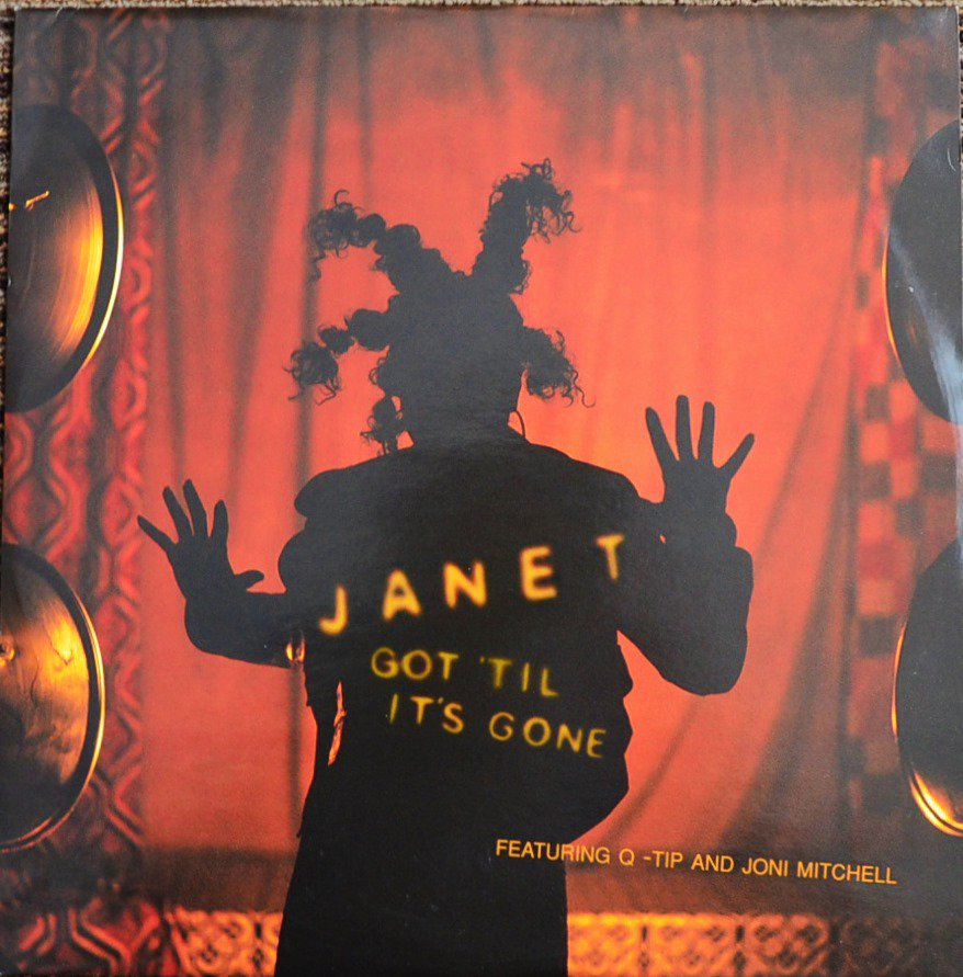 JANET JACKSON FEATURING Q-TIP AND JONI MITCHELL ‎/ GOT 'TIL IT'S GONE (12