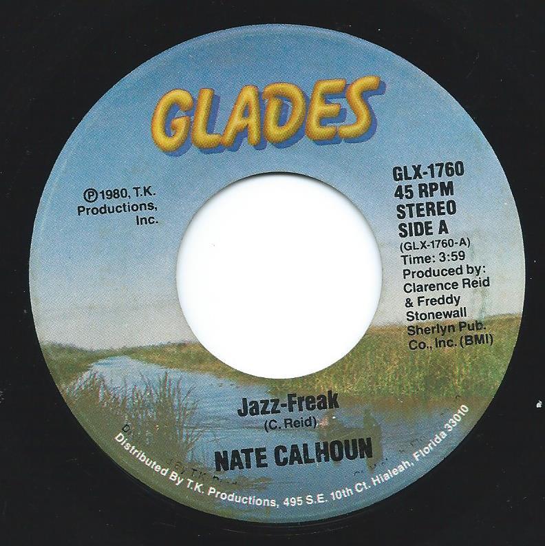 NATE CALHOUN / JAZZ-FREAK / ALL OF ME (7