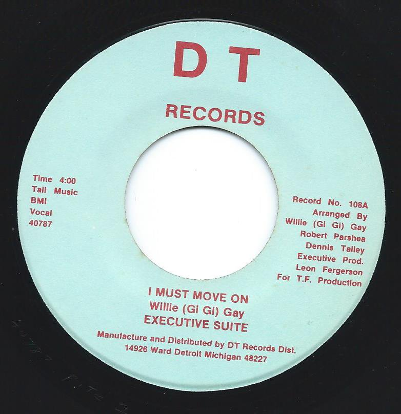 EXECUTIVE SUITE / I MUST MOVE ON / WHY IN THE WORLD DO THEY KEEP ON (FUNKIN' WITH ME) (7