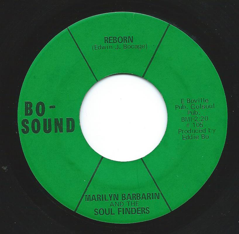 MARILYN BARBARIN AND THE SOUL FINDERS ‎/ REBORN / BELIEVE ME (7