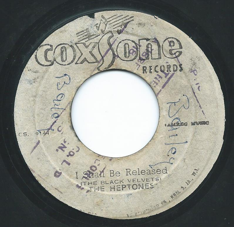 THE HEPTONES / I SHALL BE RELEASED / DARLING I LOVE YOU (7