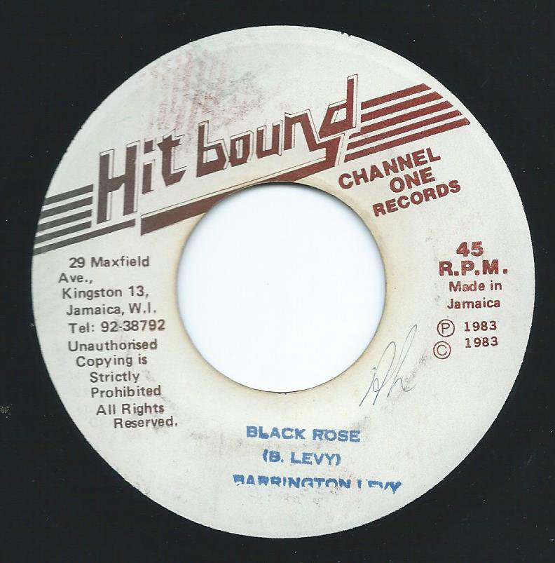 BARRINGTON LEVY / BLACK ROSE (7