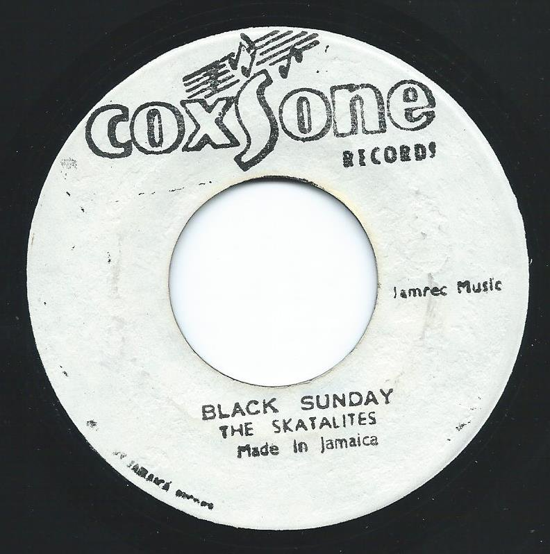 THE SKATALITE / DELROY WILSON / BLACK SUNDAY / SPIT IN THE SKY (7