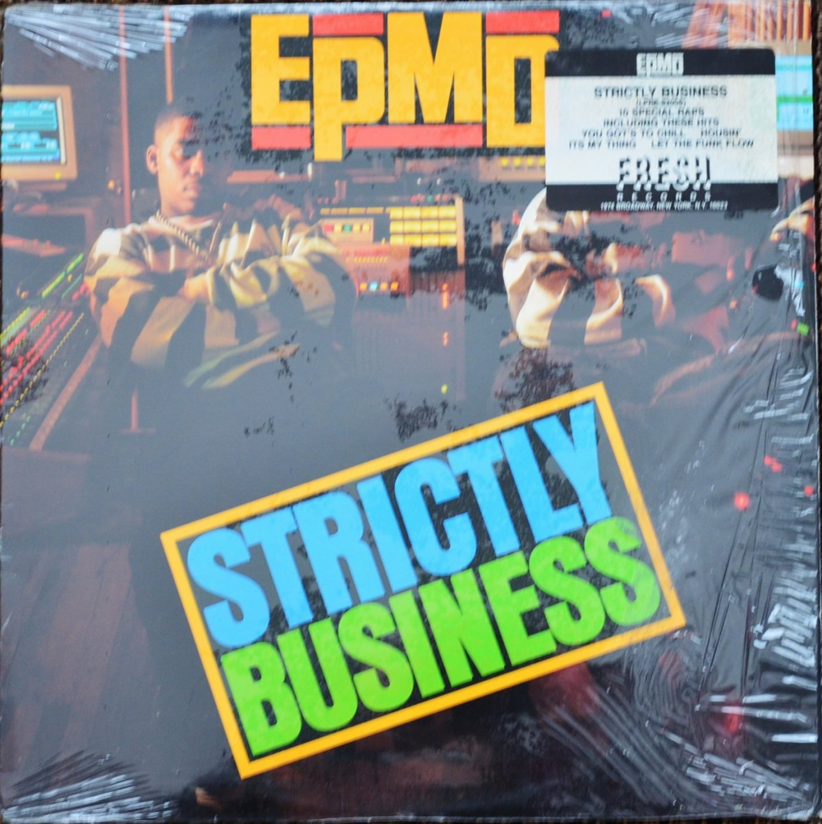 EPMD / STRICTLY BUSINESS (1LP)