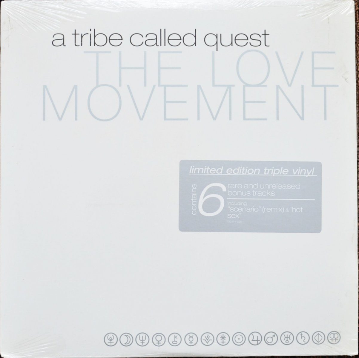 A TRIBE CALLED QUEST ‎/ THE LOVE MOVEMENT (3LP)