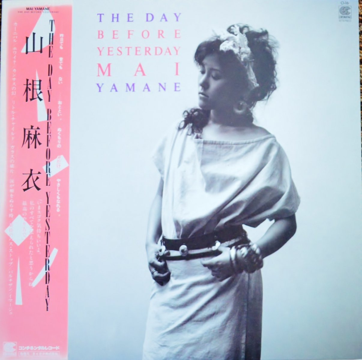 山根麻衣 MAI YAMANE / THE DAY BEFORE YESTERDAY (LP)