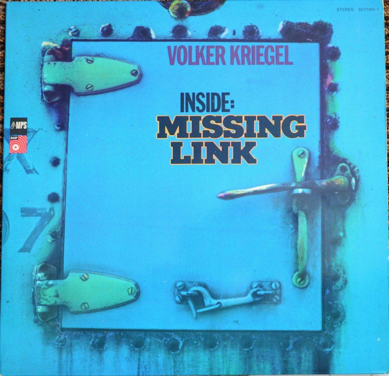 VOLKER KRIEGEL / INSIDE: MISSING LINK (2LP)