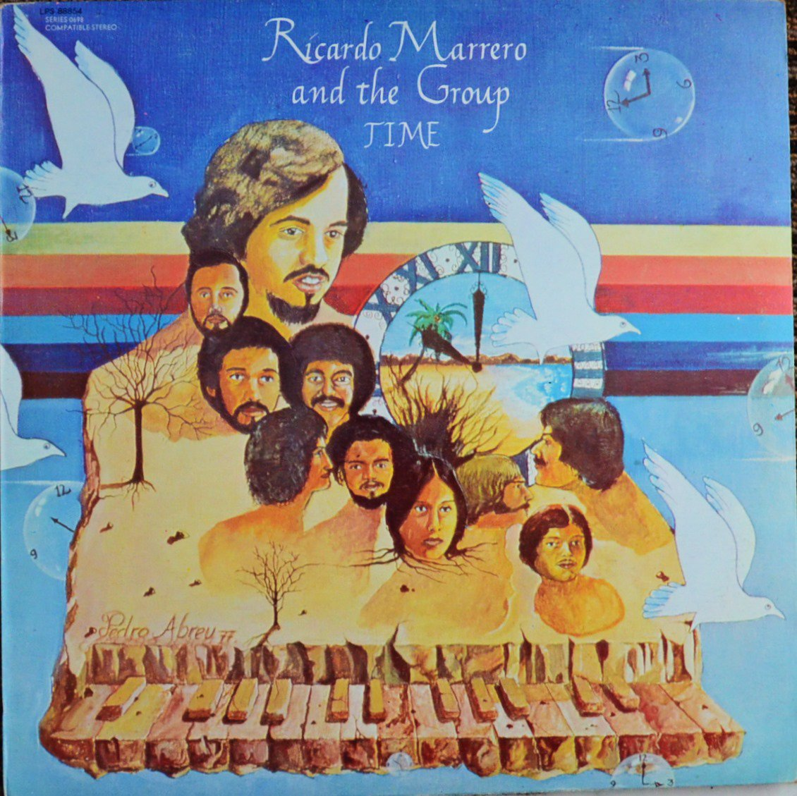 RICARDO MARRERO AND THE GROUP / TIME (LP)