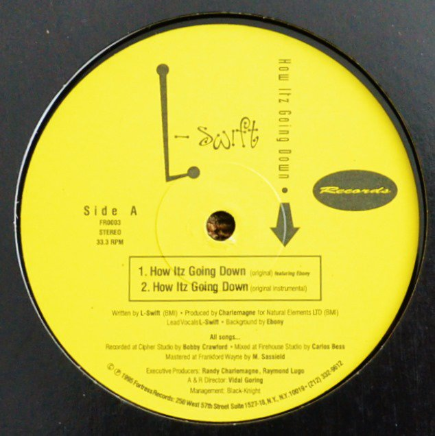 L-SWIFT / HOW ITZ GOING DOWN / CHECK DA STYLE (RE-ISSUE) (12
