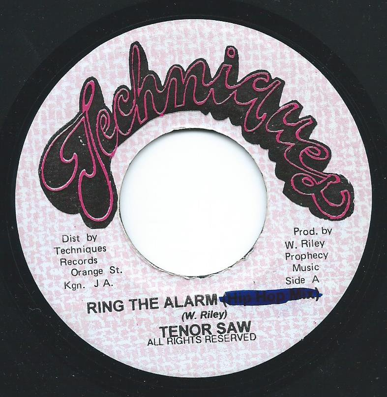 TENOR SAW ‎/ RING THE ALARM (7