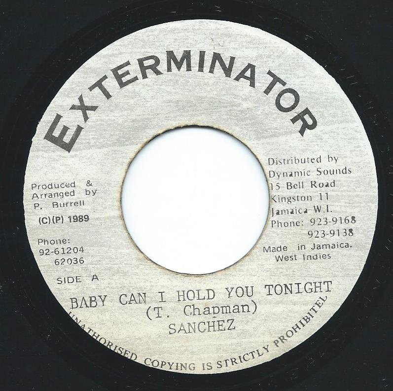 SANCHEZ ‎/ BABY CAN I HOLD YOU TONIGHT (7