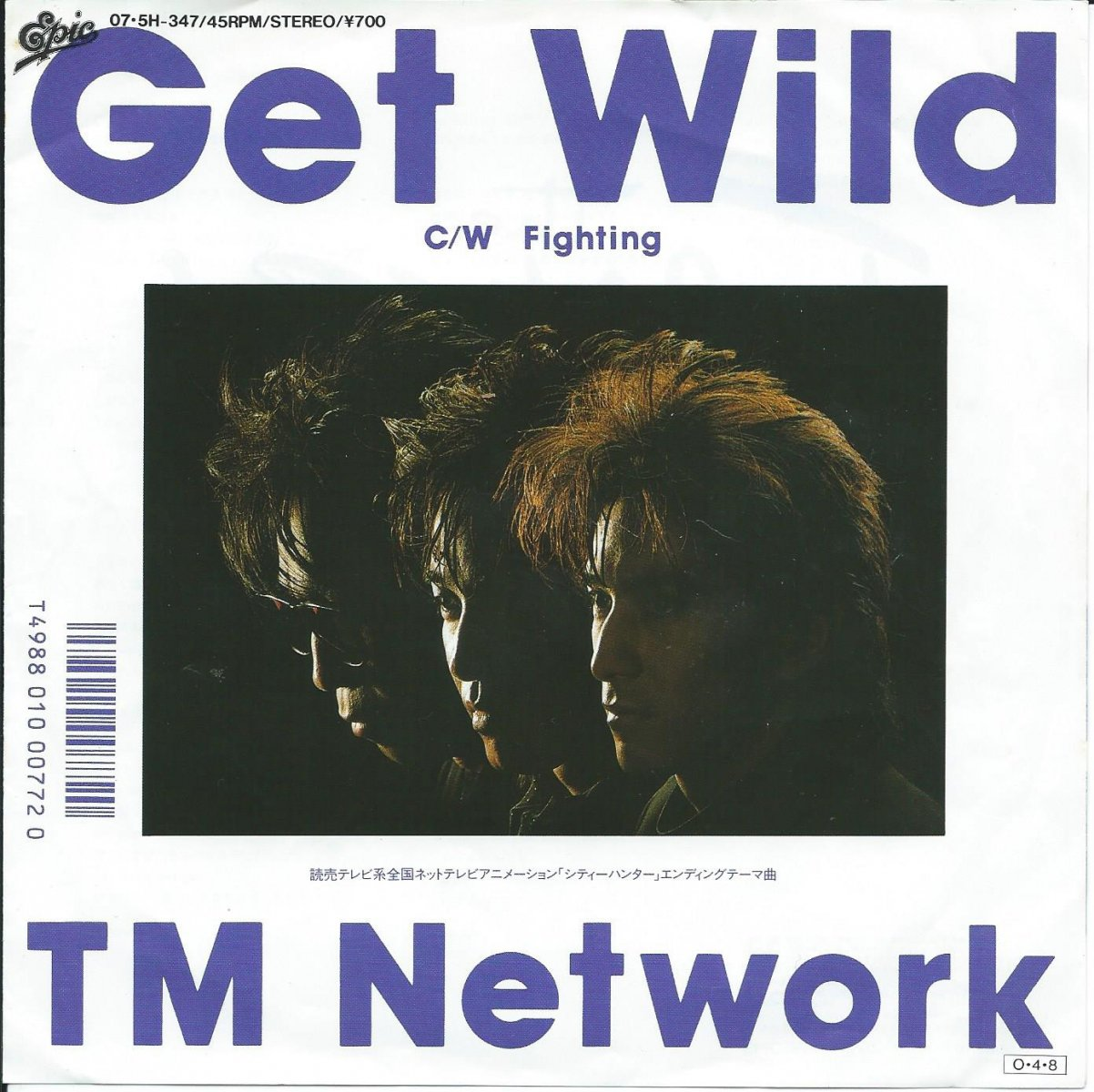 TM NETWORK / GET WILD / FIGHTING (7