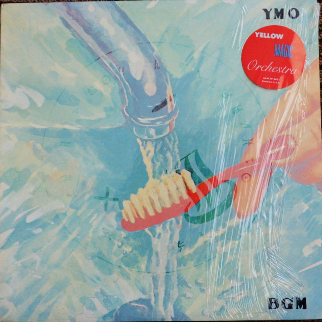 Y.M.O. (YELLOW MAGIC ORCHESTRA) / BGM (LP)