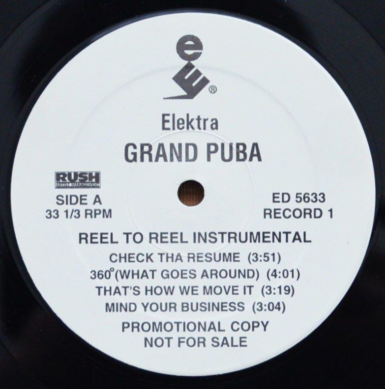 GRAND PUBA / REEL TO REEL INSTRUMENTAL (2LP)