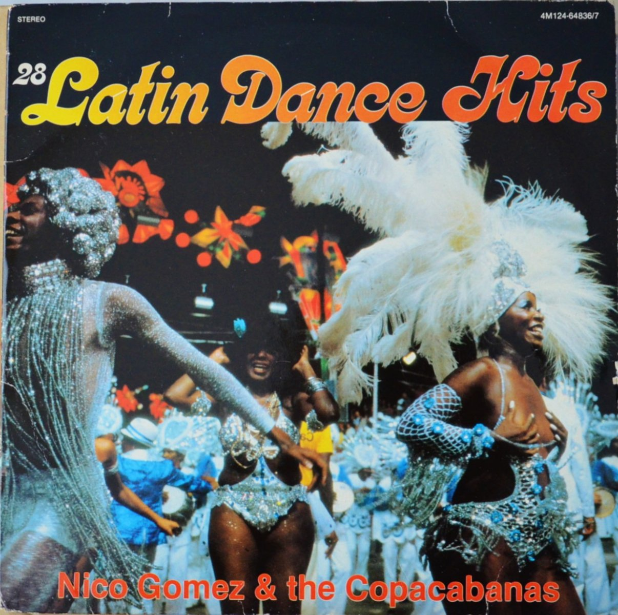 NICO GOMEZ & THE COPACABANAS ‎/ 28 LATIN DANCE HITS (2LP)