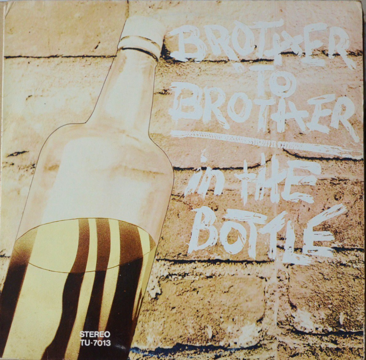 BROTHER TO BROTHER ‎/ IN THE BOTTLE (LP)