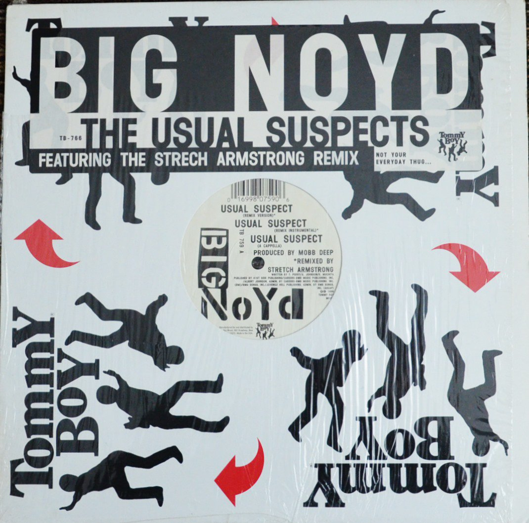 BIG NOYD / THE USUAL SUSPECTS (STRETCH ARMSTRONG REMIX) (12
