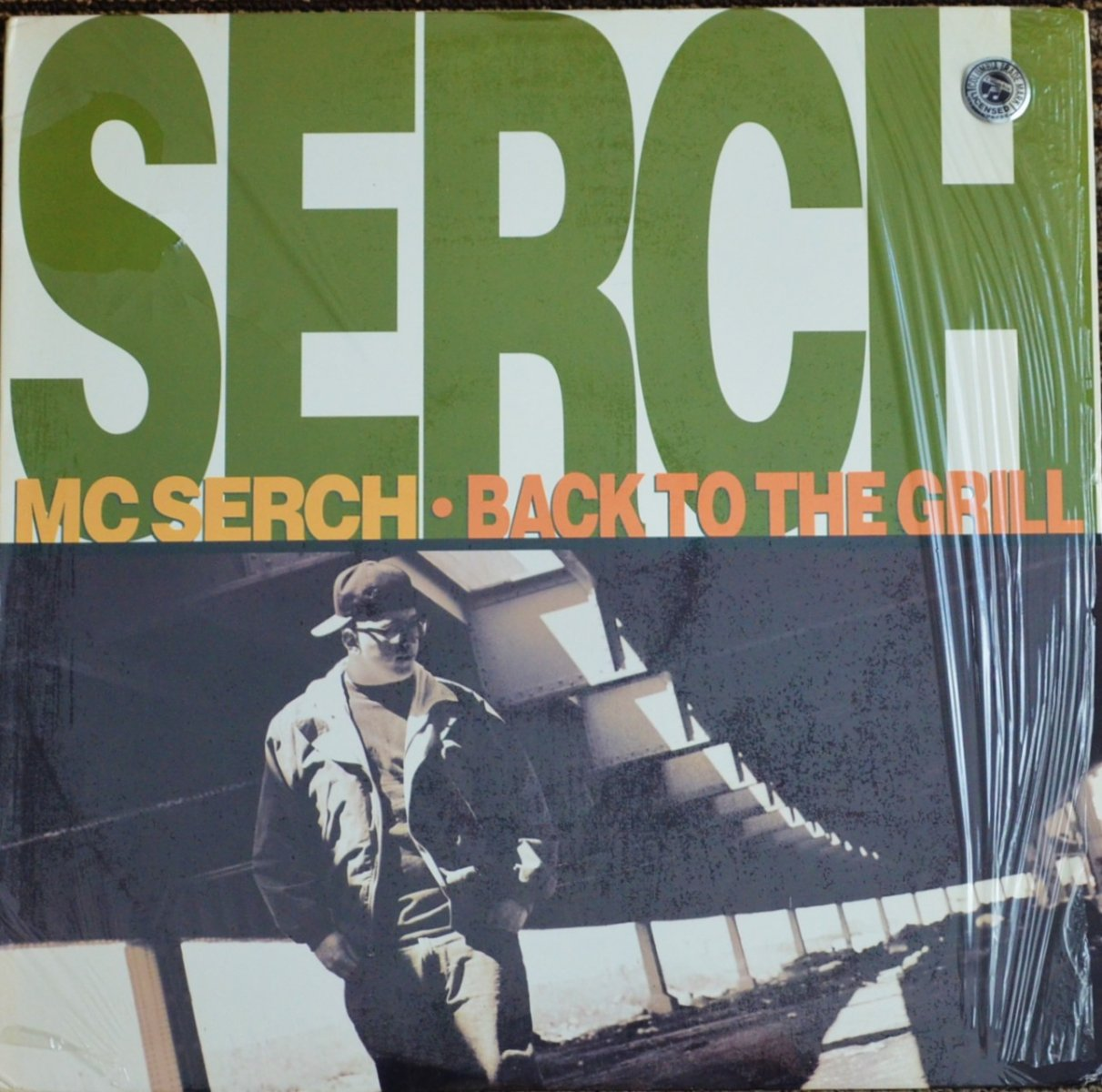 MC SERCH / BACK TO THE GRILL (FEAT.NASTY NAS,RED HOT LOVER TONE) (12