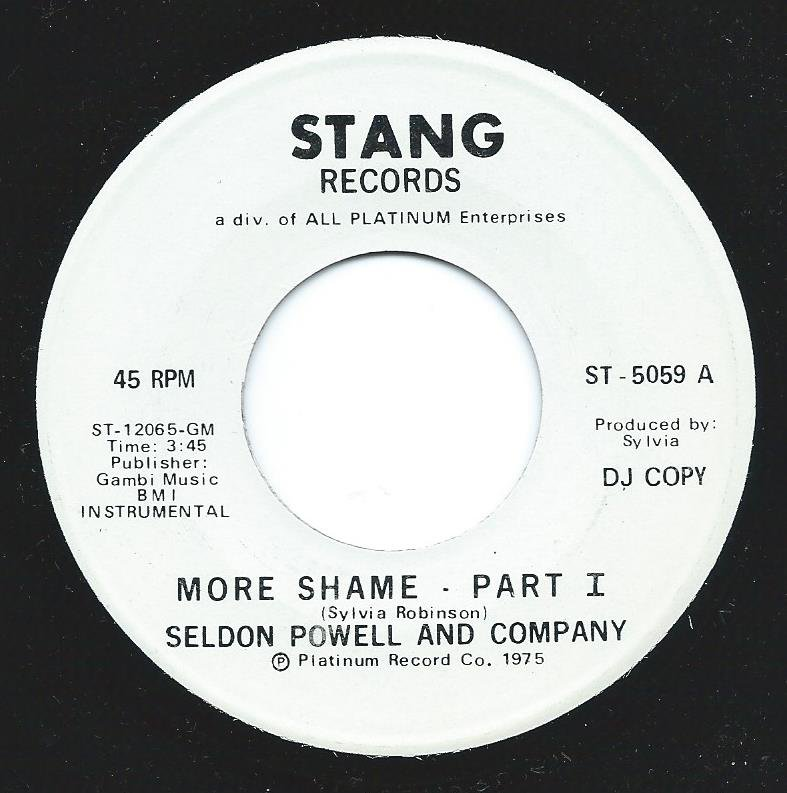 SELDON POWELL AND COMPANY / MORE SHAME (7