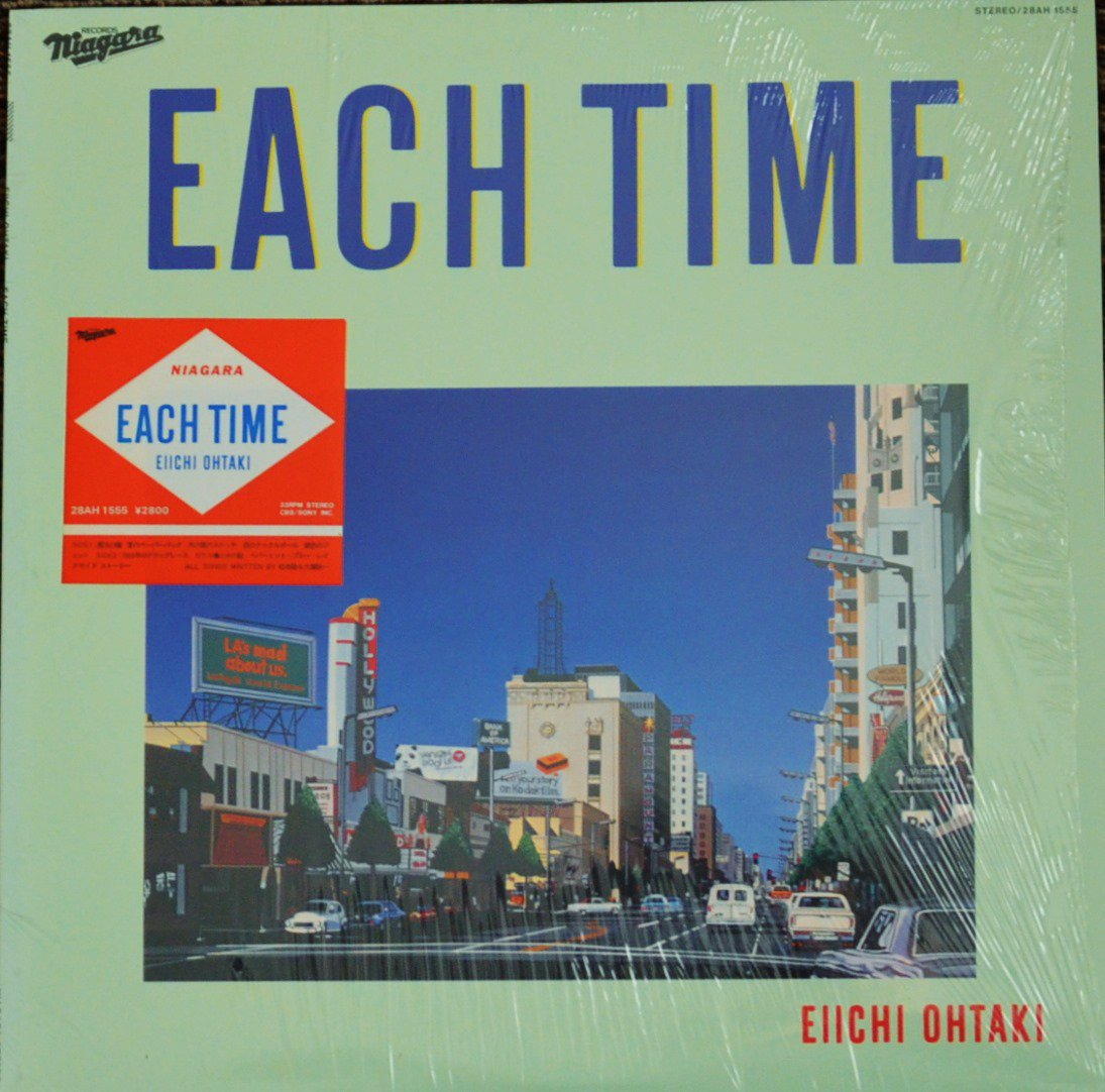 大瀧詠一 EIICHI OHTAKI / EACH TIME (LP)